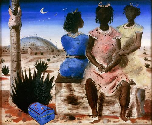 Cândido Portinari, As moças de Arcozelo, 1940