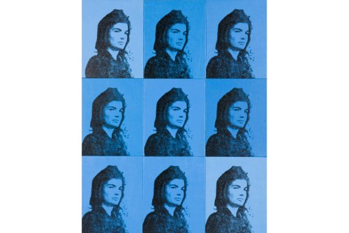 Nine Jackies, Andy Warhol