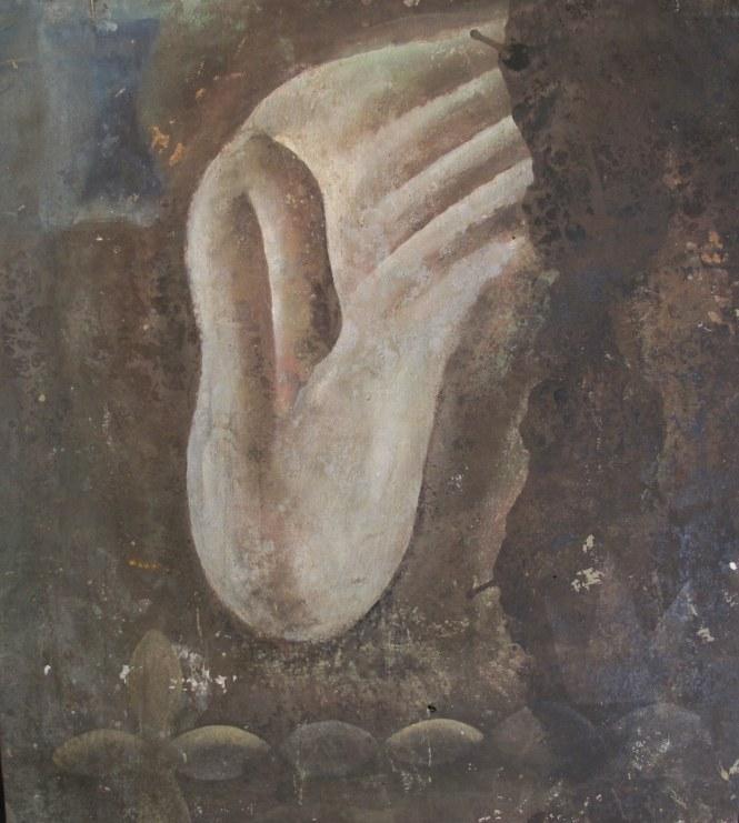 Daniel Senise Óleo sobre tela, Ano 1988, 90x80 cm
