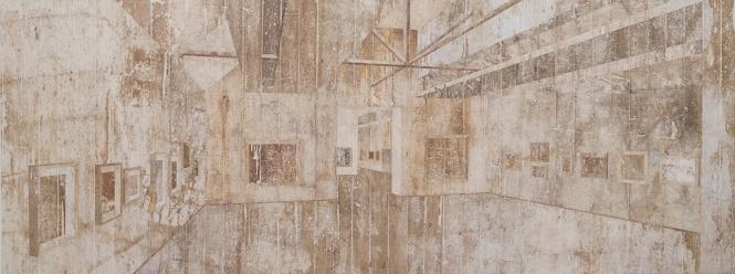 Musée D'Orsay, 2014, de Daniel Senise_
