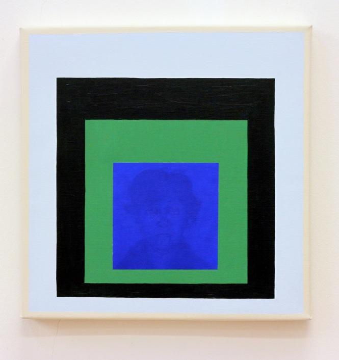 Sandra Gamarra_Imágenes Crocantes en un Ambiente Húmedo (I), 2014_oil on canvas_40 x 40 cm