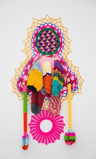 Carolina Ponte. Sem Título. tapeçaria e crochê. ECCO. 10.09.14