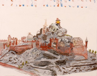 Christian Vinck_Cerro de piedra 7, 2014_Oil on canvas_34 x 37 cm