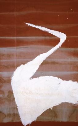 Julian Schnabel, Sem título (Manalapan), 1998, gesso sobre tecido, 259,1 x 162,6 cm
