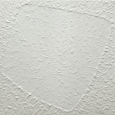 Sem título, 2014. Acrílica sobre tela, 150 x 150 cm