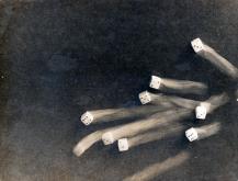 Montez Magno- Da Série Um lance de dados, 1973 fotografia 17x23cm
