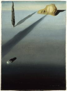 Salvador Dalí. O sentimento de velocidade, 1931. Fundació Gala-Salvador, Figueres. © Salvador Dalí, Fundació Gala-Salvador Dalí, Figueres.