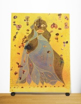 Chris Ofili, The Holy Virgin Mary (1996). Foto: Wikipedia
