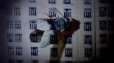 "Frame do vídeo ""Surveillance"", de Regina Silveira"