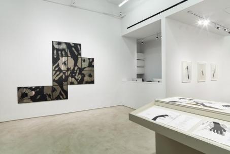 Vista parcial da exposição, Alexander Gray Associates (2016)
